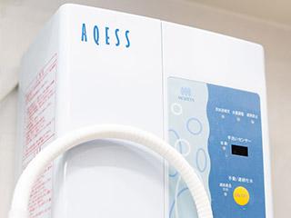 ソフト酸性水生成機(AQESS)